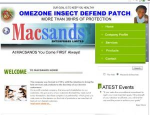 Macsands Enterprises Ltd