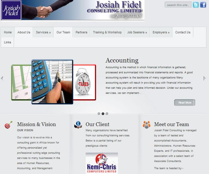Josiah Fidel Consulting Ltd